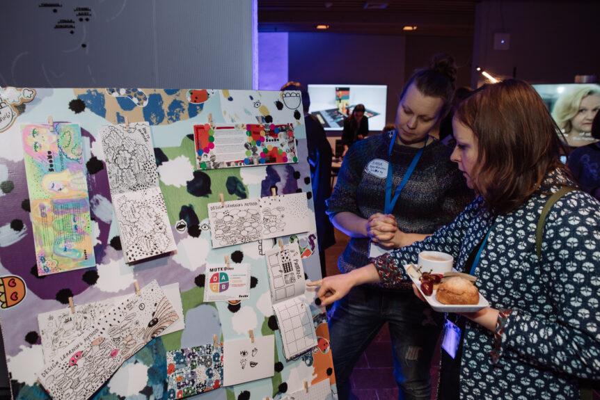 Finnish Association of Design Learning at exbibition