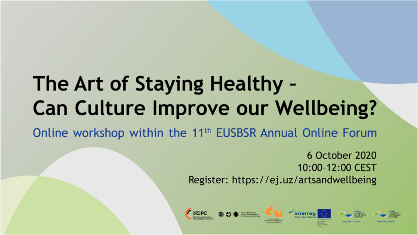 Banner art of staying healthy
