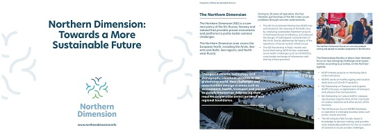Northern Dimension Towards a More Sustainable Future p1 2 2